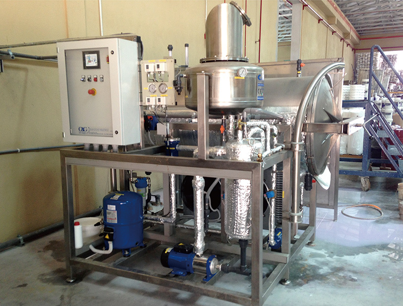 High Concentration Wastewater Treatment System for Food Factory (Local company)